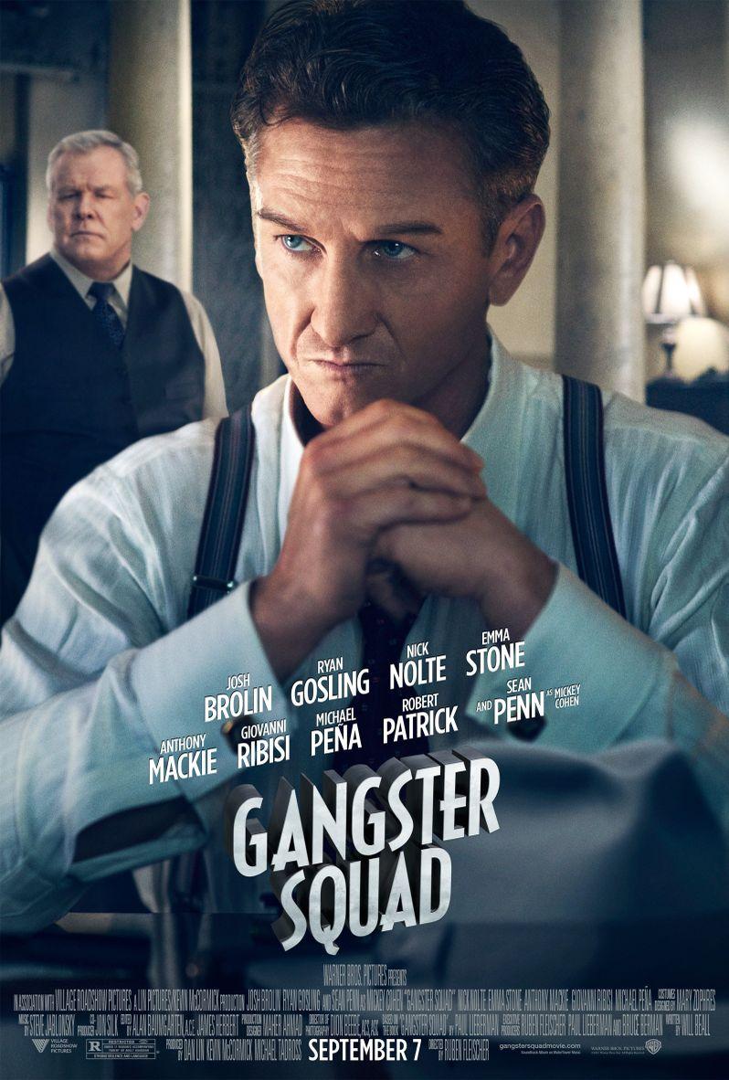 <strong><em>Gangster Squad</em></strong> Sean Penn Character Poster