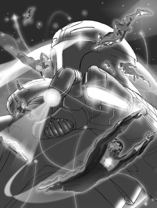 <strong><em>Green Lantern</em></strong> Concept Art