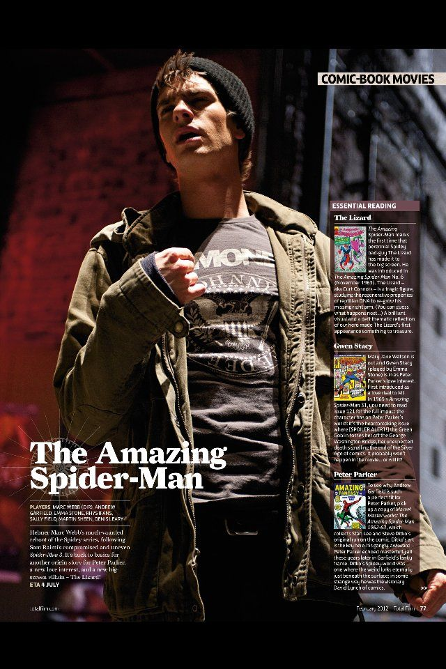 Andrew Garfield in <strong><em>The Amazing Spider-Man</em></strong>