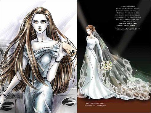 Bella Wedding Dress Concept Art