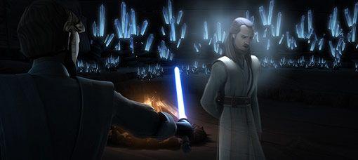 Qui-Gon Jinn in <strong><em>Star Wars: The Clone Wars</em></strong>