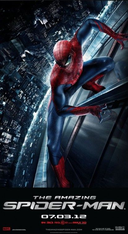 <strong><em>The Amazing Spider-Man</em></strong> Yahoo! IMAX Poster