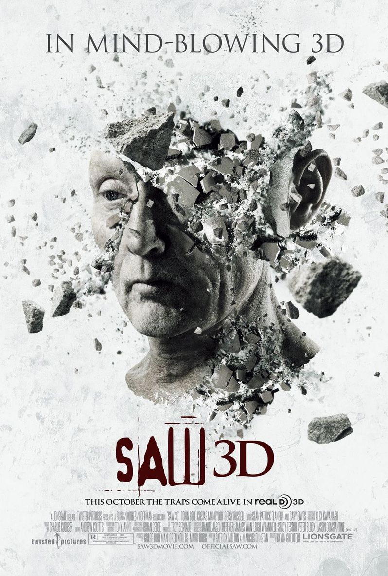 <strong><em>Saw 3D</em></strong> comes to theaters October 29th