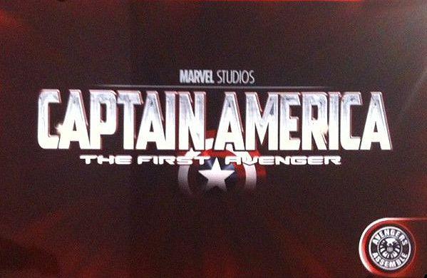<strong><em>Captain America: The First Avenger</em></strong> Official Logo