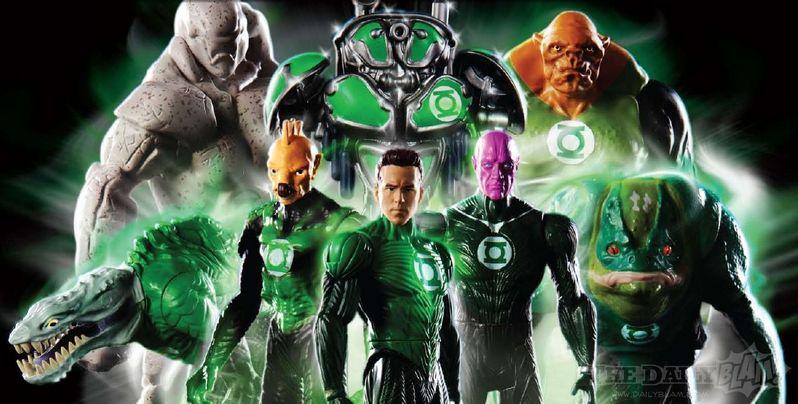 <strong><em>Green Lantern</em></strong> Action Figures