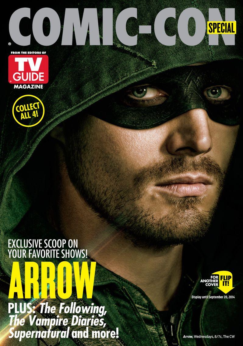 <strong><em>Arrow</em></strong> TV Guide Comic Con Cover