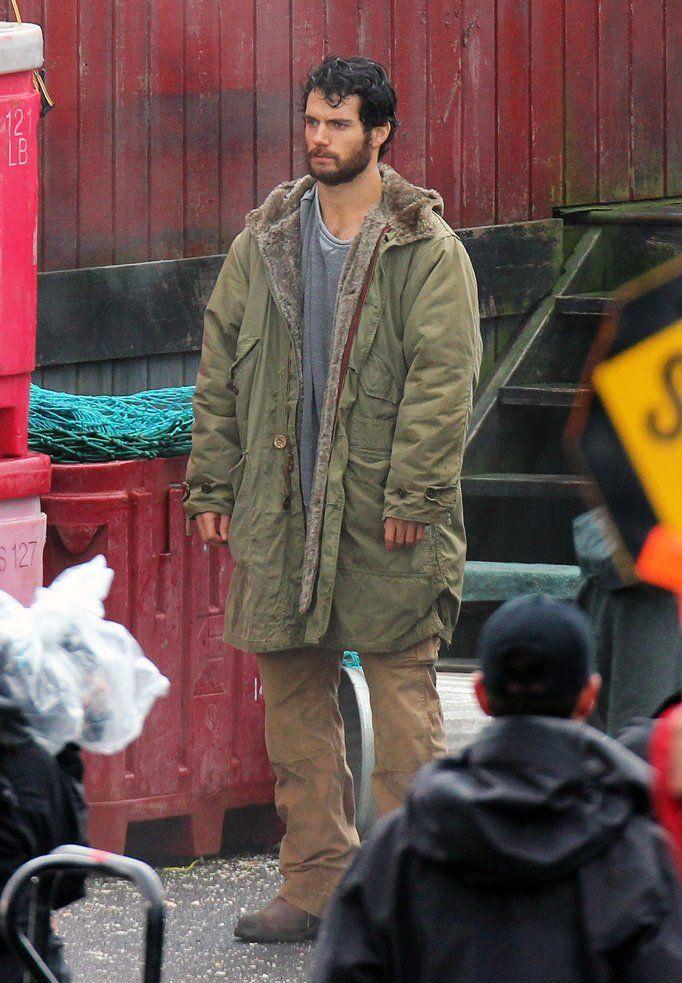 Henry Cavill as a Bearded Clark Kent #4