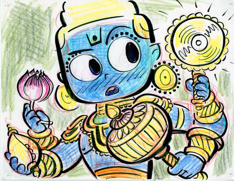 Sanjay's Super Team Concept Art 2