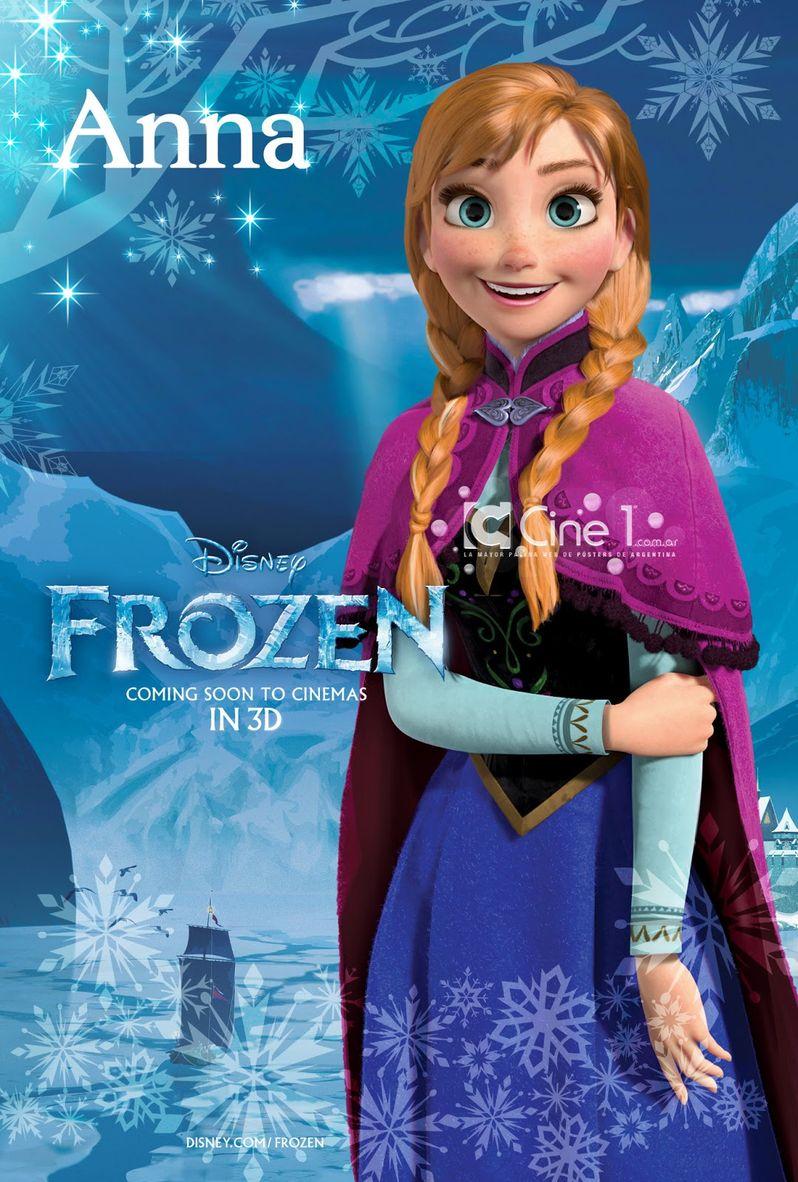 <strong><em>Frozen</em></strong> Anna Character Poster