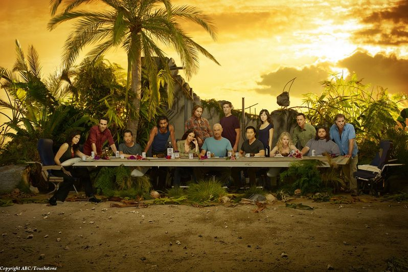 The cast of <strong><em>Lost</em></strong>