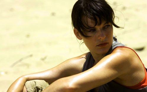 <strong><em>A Perfect Getaway</em></strong> Milla Jovovich