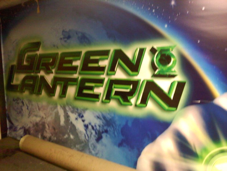 <strong><em>Green Lantern</em></strong> Logo