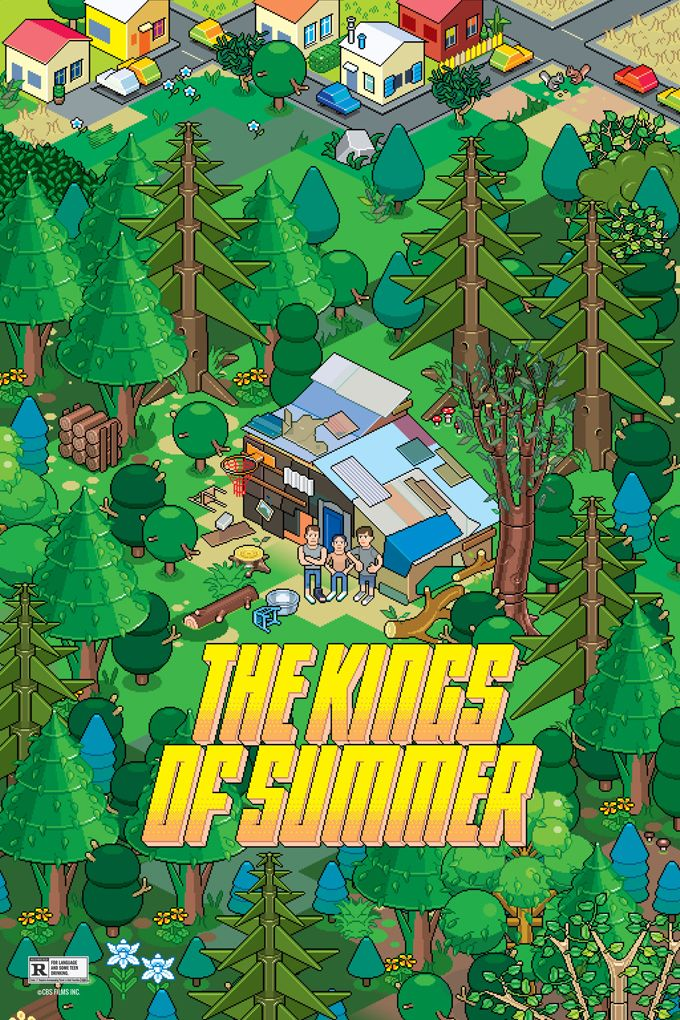 <strong><em>The Kings of Summer</em></strong> Alternate Poster 2