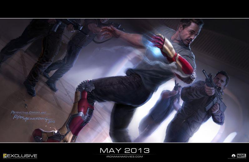 <strong><em>Iron Man 3</em></strong> Boot and Glove Concept Art