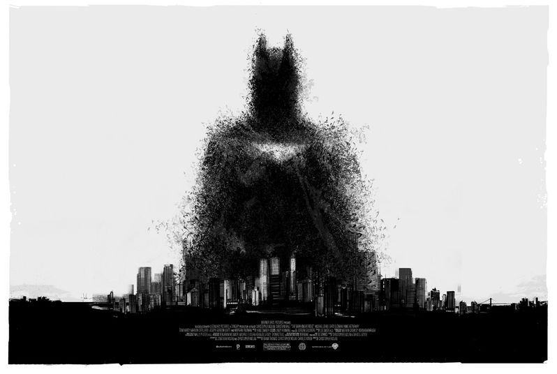 <strong><em>The Dark Knight Rises</em></strong> Mondo Comic-Con 2012 Poster