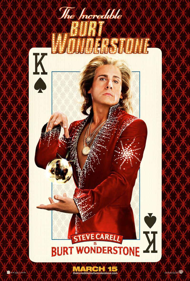 Burt Wonderstone Steve Carell Poster