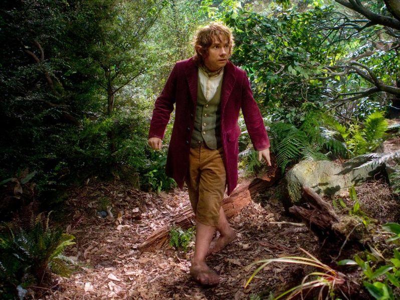 Martin Freeman in <strong><em>The Hobbit: An Unexpected Journey</em></strong>