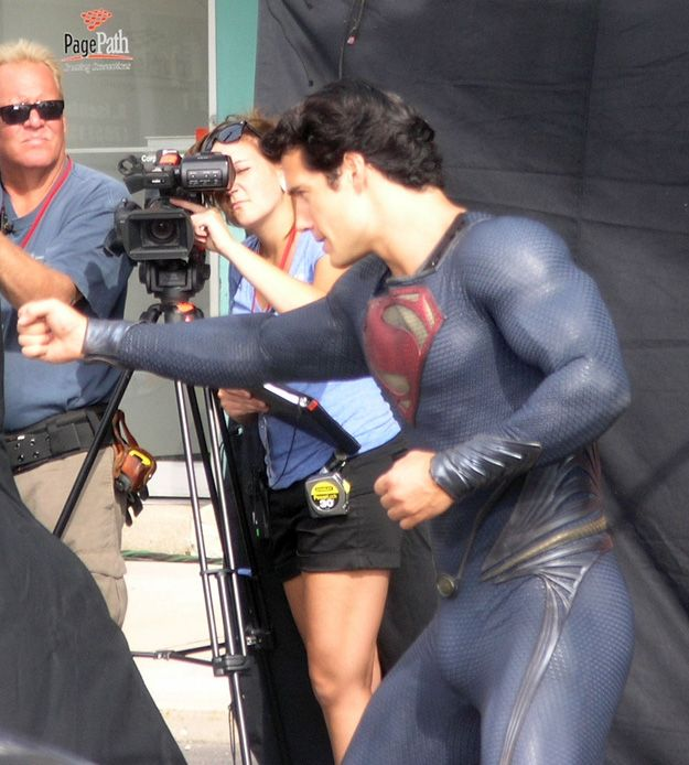 Henry Cavill as the <strong><em>Man of Steel</em></strong> #2