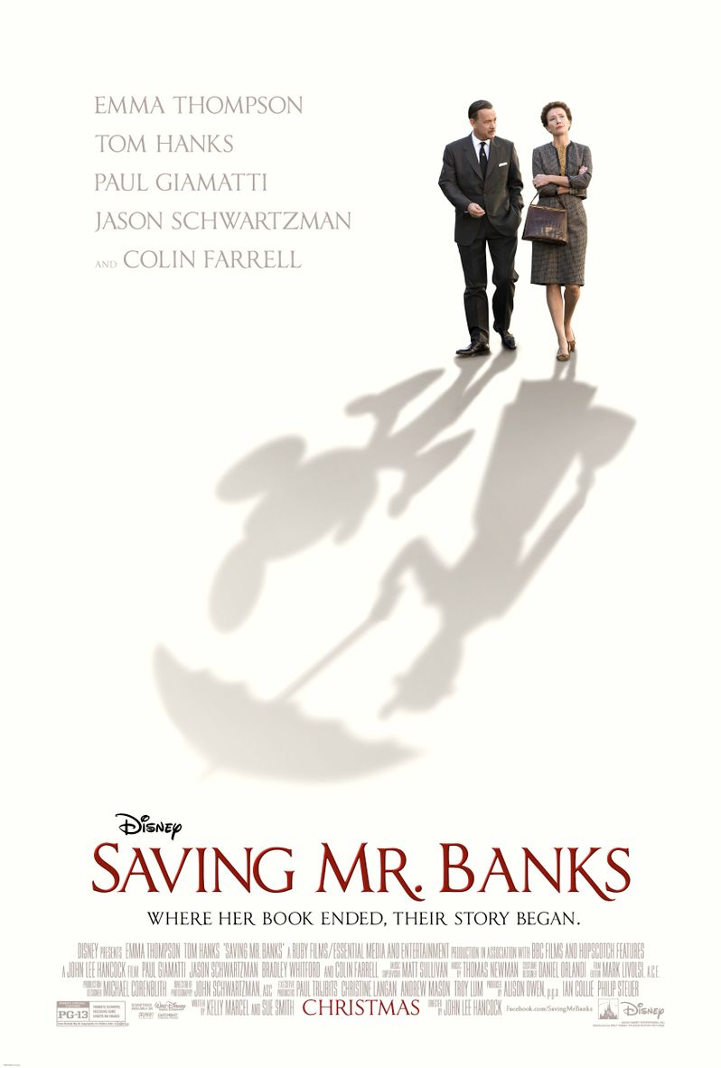 <strong><em>Saving Mr. Banks</em></strong> Poster