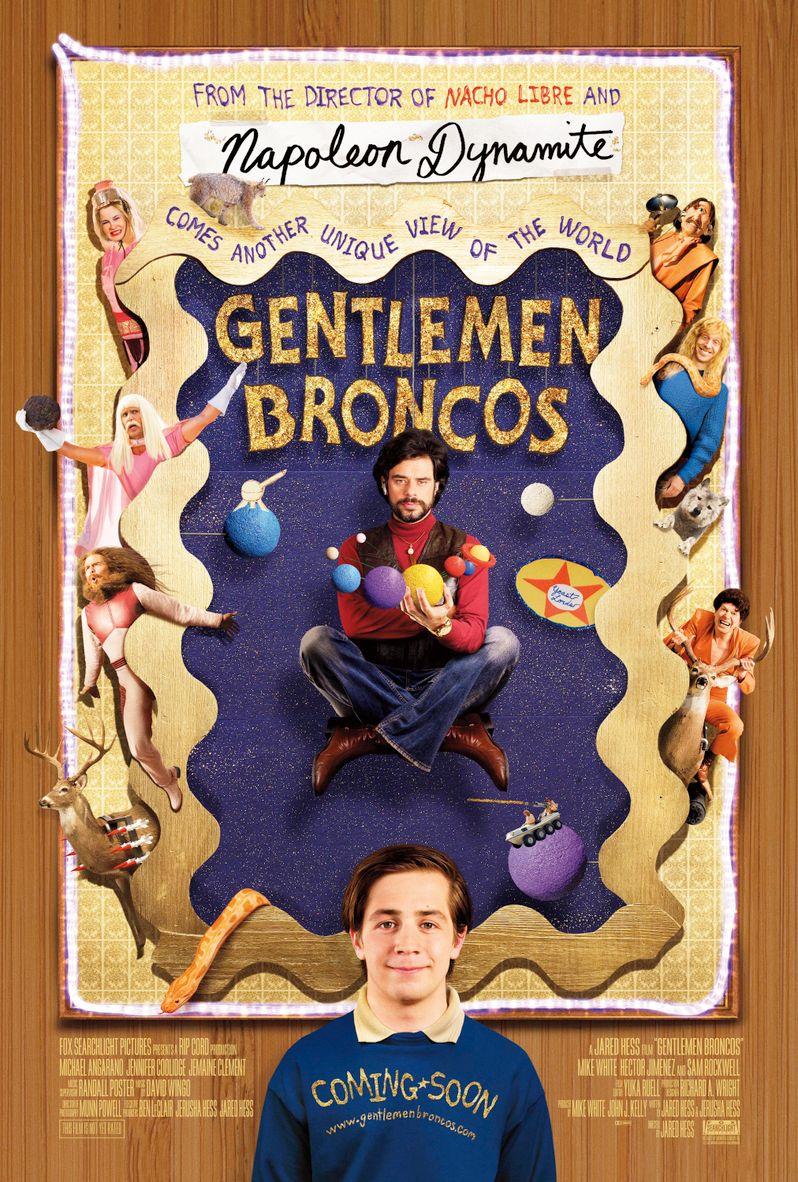 The <strong><em>Gentlemen Broncos</em></strong> Poster