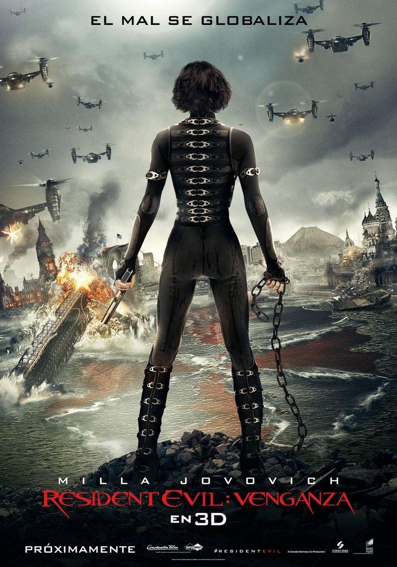 Resident Evil Spanish Poster