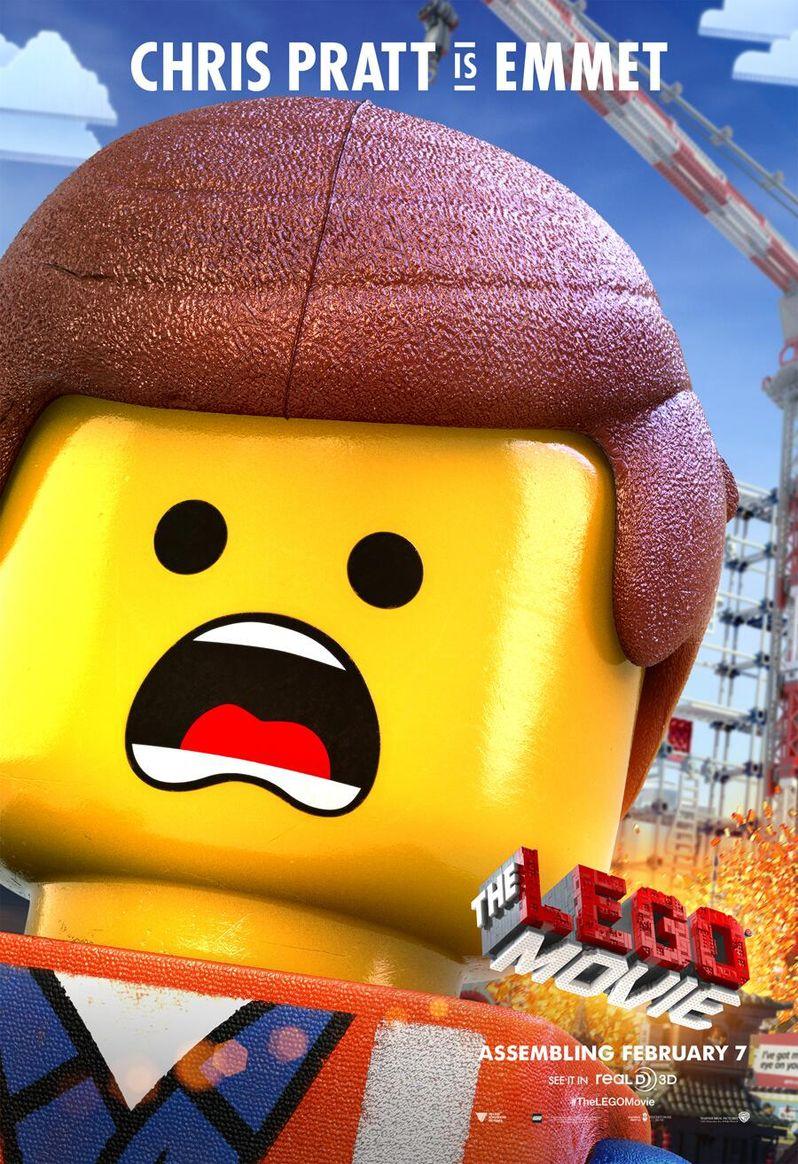 <strong><em>The Lego Movie</em></strong> Character Poster 1 Emmet