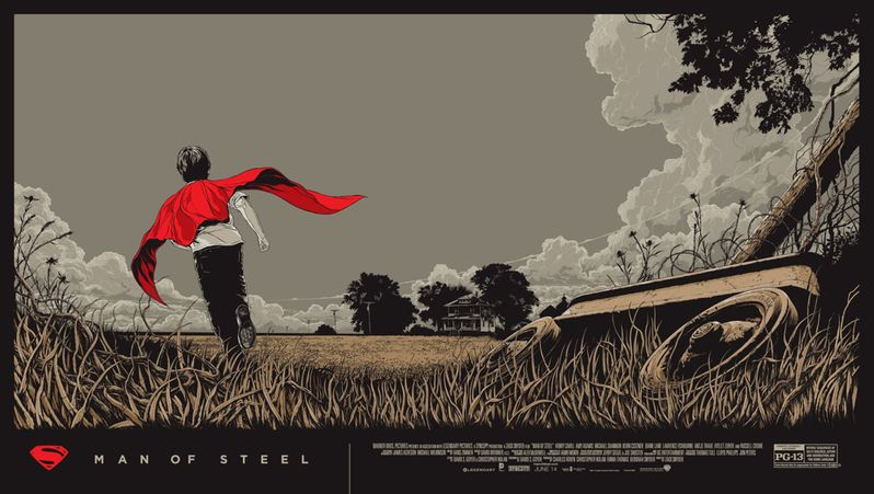 <strong><em>Man of Steel</em></strong> Mondo Poster 1