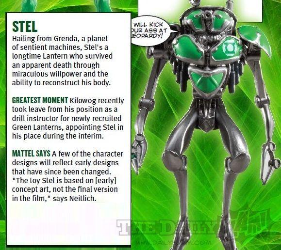 <strong><em>Green Lantern</em></strong> Stel Action Figure