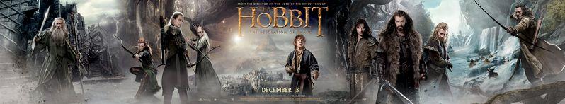 <strong><em>The Hobbit: The Desolation of Smaug</em></strong> Banner