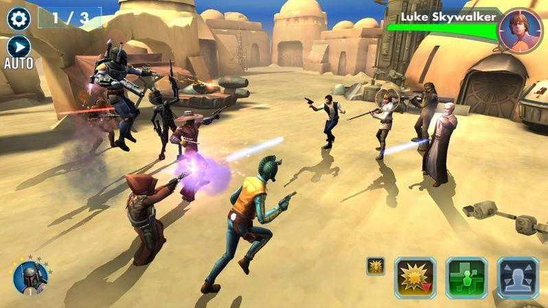 Star Wars Galaxy of Heroes Photo 6