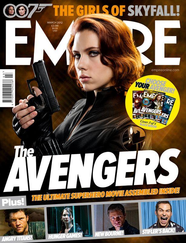 Black Widow Empire Cover