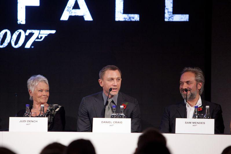 <strong><em>Skyfall</em></strong> London Press Conference photo 3