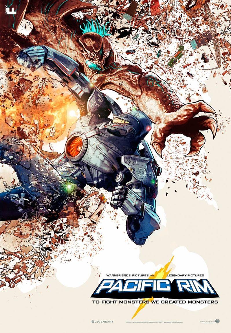 Pacifc Rim IMAX poster