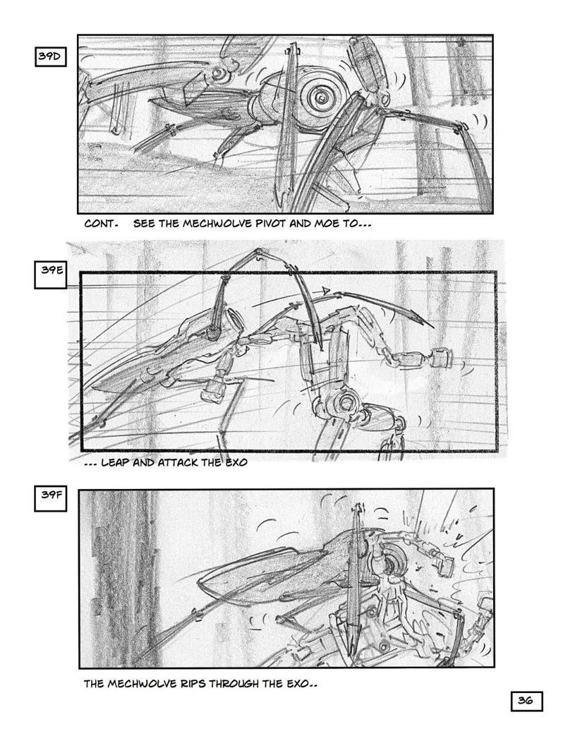 <strong><em>Robopocalypse</em></strong> Storyboard 1