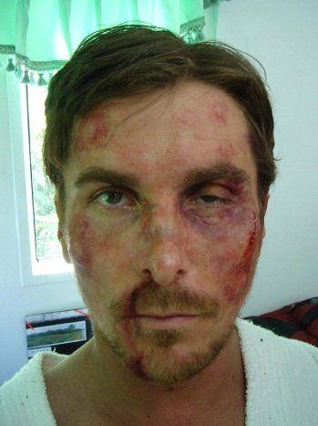 Christian Bale Dark Knight Rises Production Photo