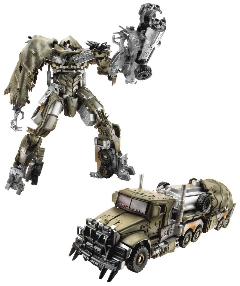 <strong><em>Transformers: Dark of the Moon</em></strong> Megatron Toy Photo