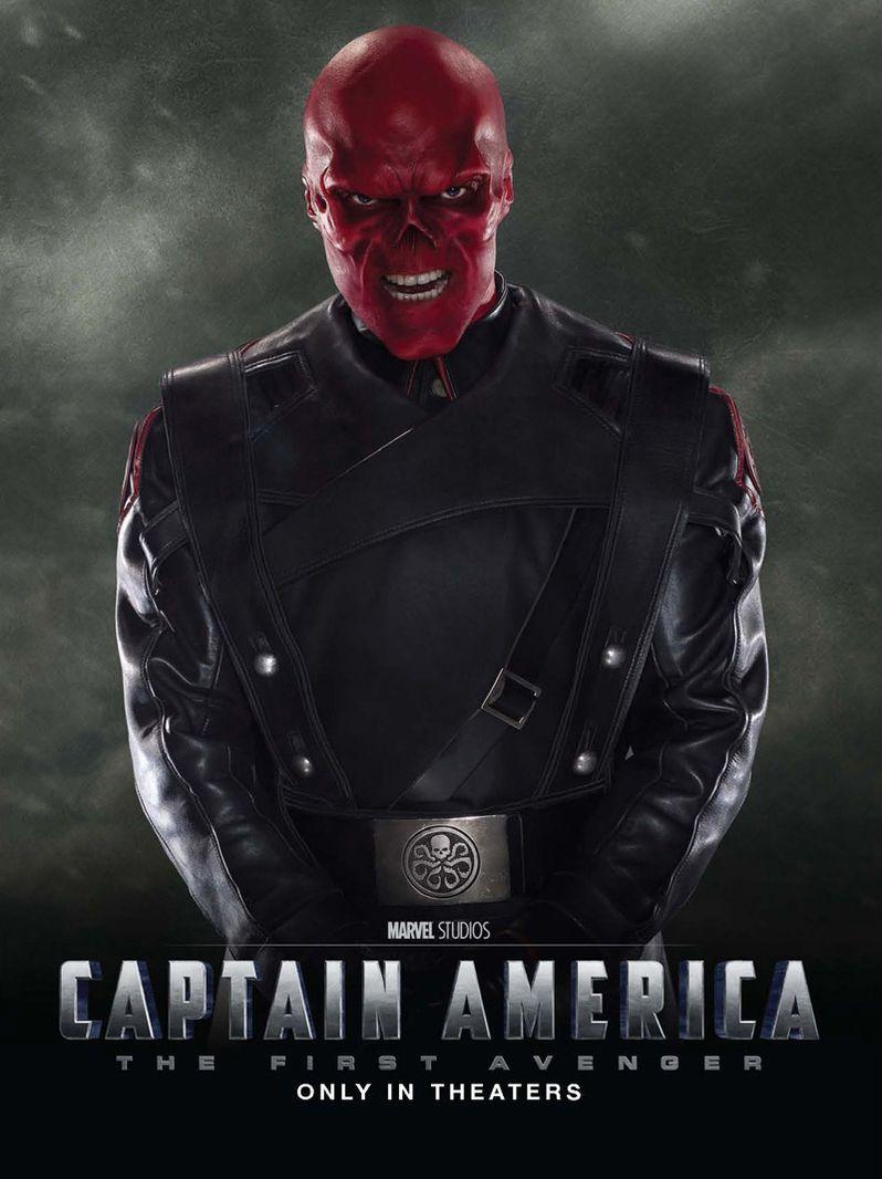 <strong><em>Captain America: The First Avenger</em></strong> Hugo Weaving Poster