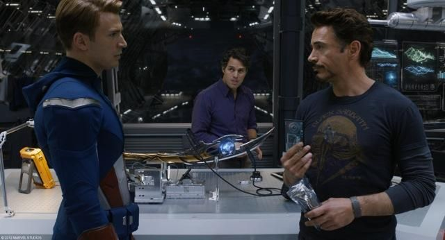 The Avengers special FX photo 5a