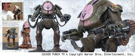 <strong><em>Sucker Punch</em></strong> The Art of the Film Book Photo #1