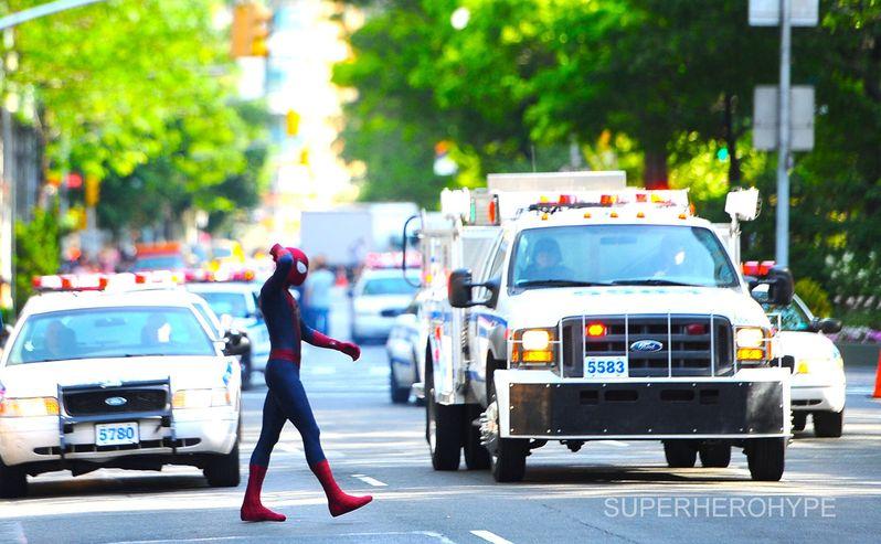 The Amazing Spider-man 2 On Set #10