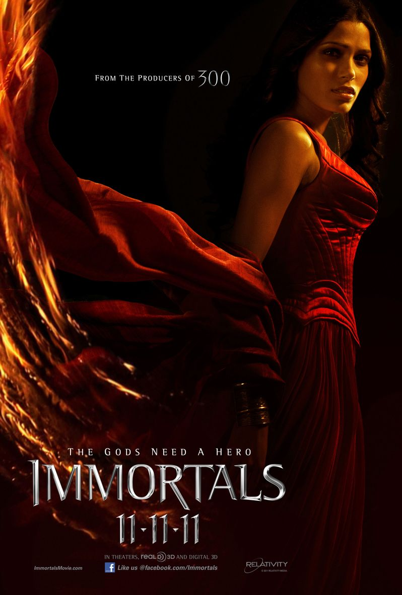 <strong><em>Immortals</em></strong> Character Poster #4