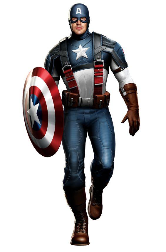Captain America Concept Art #1
