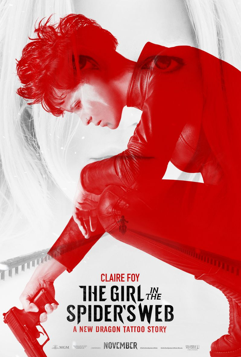 <strong><em>The Girl in the Spider's Web</em></strong> poster