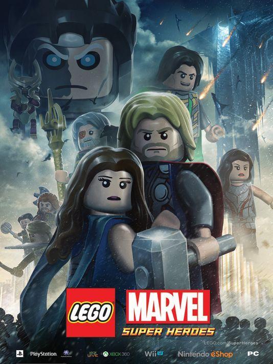 <strong><em>Thor: The Dark World</em></strong> LEGO Poster