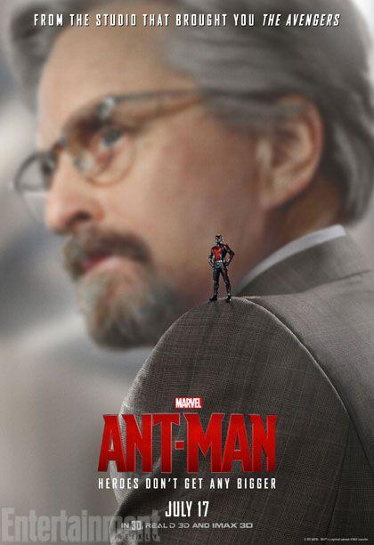 Ant-man Hank Pym Poster