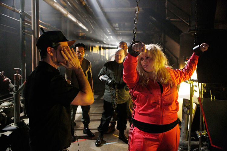 2013 MTV Movie Awards with Rebel Wilson Photo 7