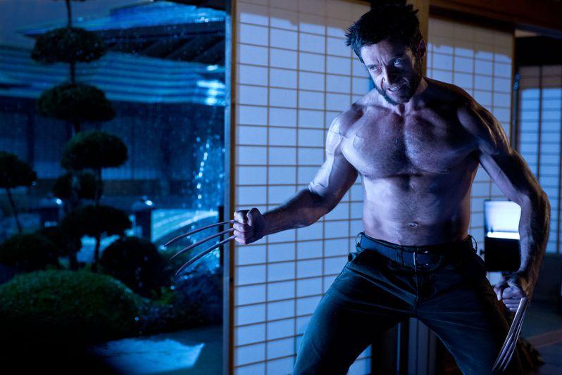 <strong><em>The Wolverine</em></strong> Hugh Jackman Dojo Photo