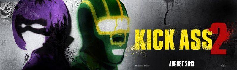 Kick Ass 2 Graffiti Banner