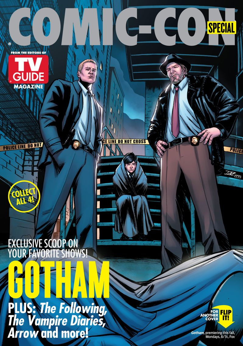 Gotham TV Guide Comic Con Cover