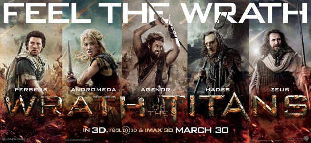 <strong><em>Wrath of the Titans</em></strong> Poster #3